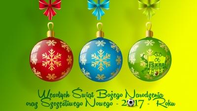 Wesołych Świąt Bożego Narodzenia, Szczęśliwego Nowego - 2017 - Roku