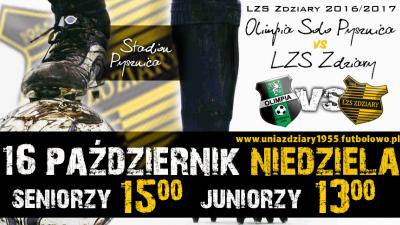 Zapowiedź 11 Kolejki: Olimpia Solo Pysznica - LZS Zdziary.
