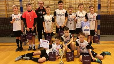 III Zimowy Turniej Halowy w Ksawerowie - II miejsce ŁAF