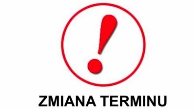 ZMIANA TERMINU TRENINGU !!!