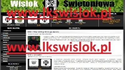 STRONA www.lkswislok.pl