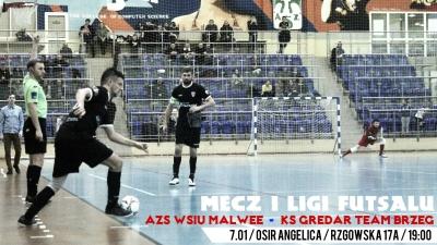 I PLF: W sobotę podejmiemy KS Gredar Futsal Team!