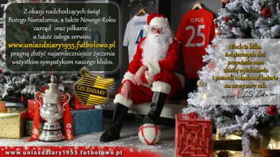 Wesołych Świąt Bożego Narodzenia i Szczęśliwego Nowego Roku.
