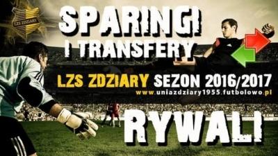 Transfery i sparingi w Klasie Okręgowej sezon 2016/17.