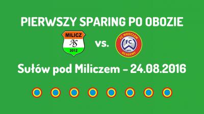 Sparing z AS Milicz