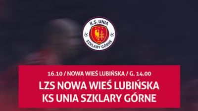 Kadra na mecz o mistrzostwo klasy B grupy 2 przeciwko drużynie LZS Nowa Wieś Lubińska