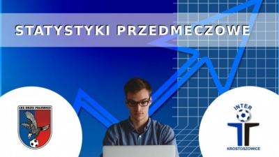 Statystyki przed spotkaniem wyjazdowym z Orłem Palowice