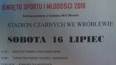 Festyn we Wróblewie !!!