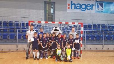 Zwycięstwo orlików w halowym turnieju POLONIA CUP w Tychach.