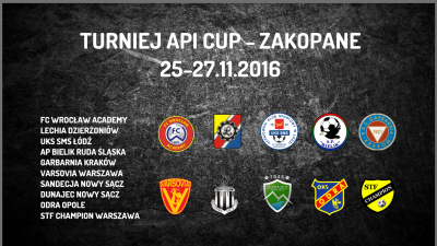Turniej API CUP w Zakopanem (25-27.11.2016)