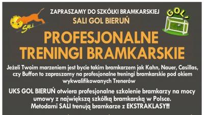 Profesjonalne treningi bramkarskie dla wszystkich!!!