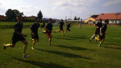 Pierwszy sparing na remis: LKS Żyraków - LKS Nagoszyn 0:0