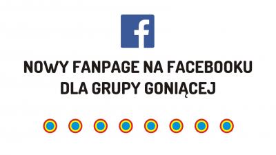 Facebook fanpage grupy goniącej