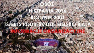 OBÓZ - HISZPANIA 2016