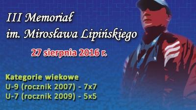 III Turniej Piłki Nożnej im. Mirosława Lipińskiego Pieszyce
