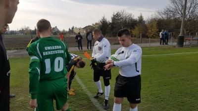 Fotorelacja z meczu LKS Krzyżanowice - Gwiazda Skrzyszów 05.11.2016r