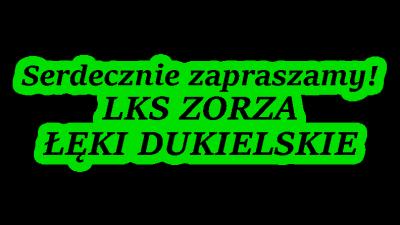 Zapraszamy na turniej do Łęk Dukielskich!