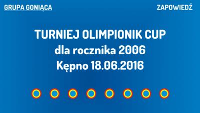 (G) Turniej Olimpionik Cup dla rocznika 2006 (18.06.2016)