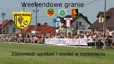 Grają drużyny Amatora Maszewo 14-15 maj.