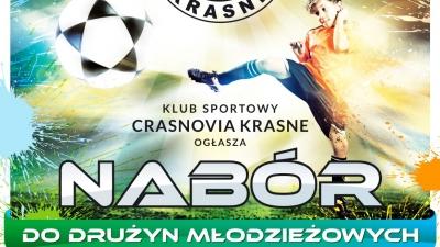 Plakat: Nabór do drużyn młodzieżowych.