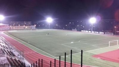 Oświetlenie na stadionie!