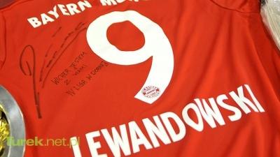 Zalicytuj koszulkę Roberta Lewandowskiego!