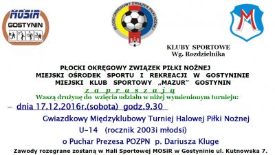 Turnieje Gwiazdkowe U-14 i U-12