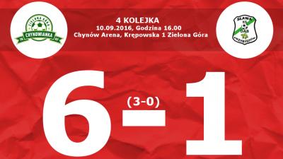 Lider pokonany! 6-1 z Dębem II Przybyszów !