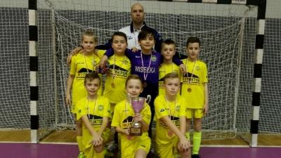 Arka Gdynia Christmas Cup - 3 miejsce w kat. U-11.