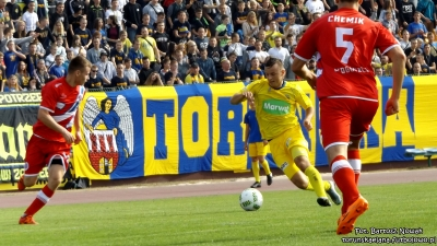 Elana Toruń - Chemik Bydgoszcz 0:2