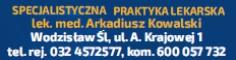Specjalistyczna Praktyka Lekarska - lek. med. Arkadiusz Kowalski