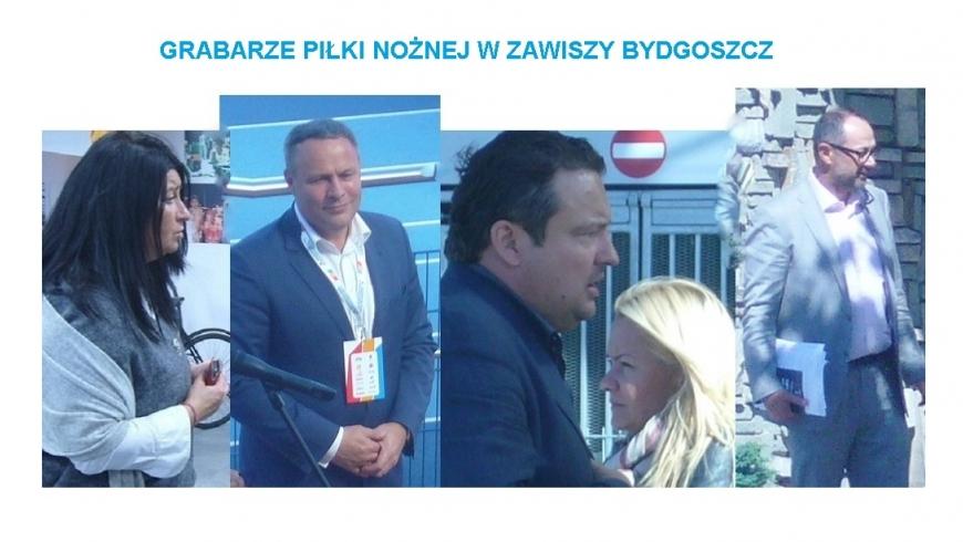 Grabarze piłki nożnej w Zawiszy Bydgoszcz