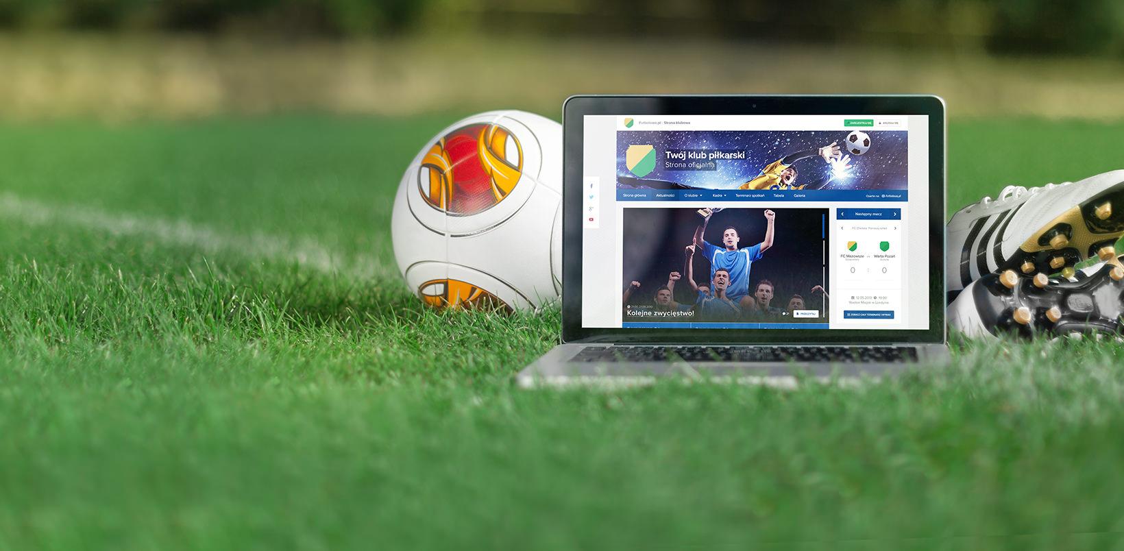Kluby piłkarskie – Futbolowo.pl – załóż stronę klubu