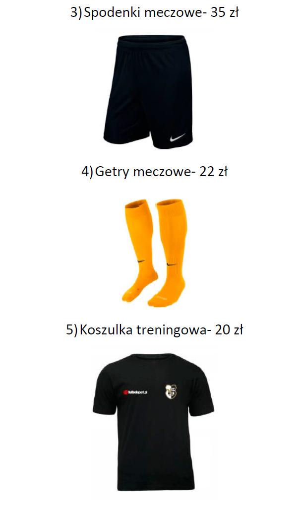 STRÓJ MECZOWY UKS Talent Poznań