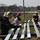 Odnawianie boiska dla najmłodszych (ul. Biedronki)