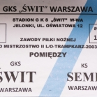 Świt Warszawa - SEMP II (RW)