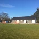 Budowa budynku klubowego - grudzień 2017