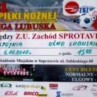 6.10.2018r IV Liga.    Z.U. Zachód Sprotavia -  Spójnia Ośno Lubuskie.