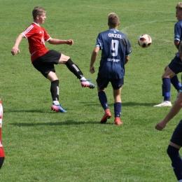 U19: Pcimianka Pcim - Orzeł Myślenice [fot. Robert Bartosz]