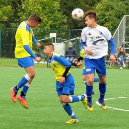 Junior młodszy: MKS Kluczbork - MKS MOSiR Opole 2:2, 18 października 2015