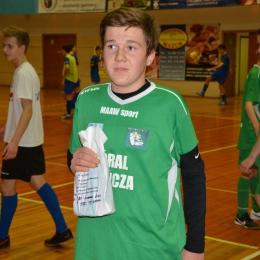 MVP meczu Góral-Tarnów Wojciech Gurak (Góral)