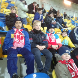 Na meczu Polska - Anglia U-18