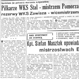 """Artykuł z  """"Żołnierza Polski Ludowej"""" - 18.09.1959."""