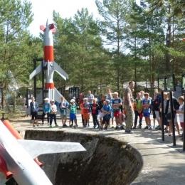 Nowęcin - wyrzutnia rakiet w Rąbce, rejs po jeziorze Łebsko