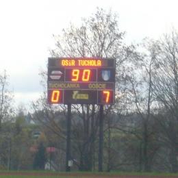11.11.2017: Tucholanka Tuchola - Zawisza 0:7 (klasa A)