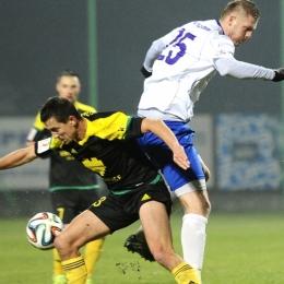MKS Kluczbork - GKS Katowice 1:2, 12 marca 2016