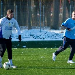Sparing: Wel Lidzbark - Wkra Bieżuń (3:1) 08.02.2015
