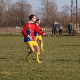 21.02.2015 Sparing LKS Puls Broszkowice - LKS Korona Harmęże 6:3