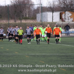 09.03.2019 KS Olimpia - Orzeł Psary/Babienica 1-0