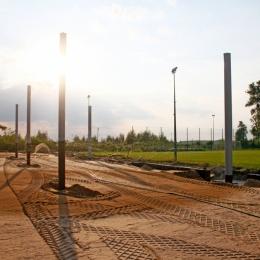 Budowa trybuny (23.07.18)
